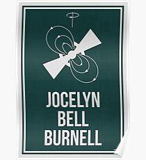 JOCELYN BELL BURNELL - Frauen in der Wissenschaft Poster