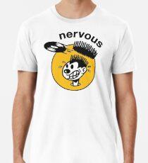 Nervöse Aufzeichnungen Männer Premium T-Shirts