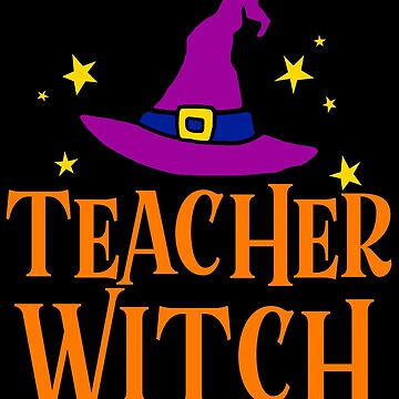 TEACHER WITCH HALLOWEEN by tshirtsclick