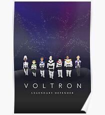 Voltron Minimalist Movie Poster Design Poster