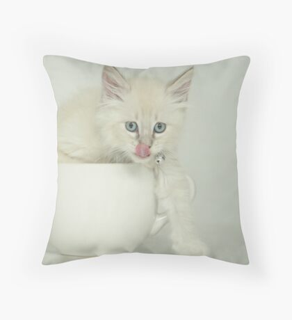 Yummy...... Throw Pillow