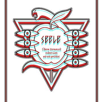 Seele Symbol VHS Evangelion, version 2.0 by itSof432