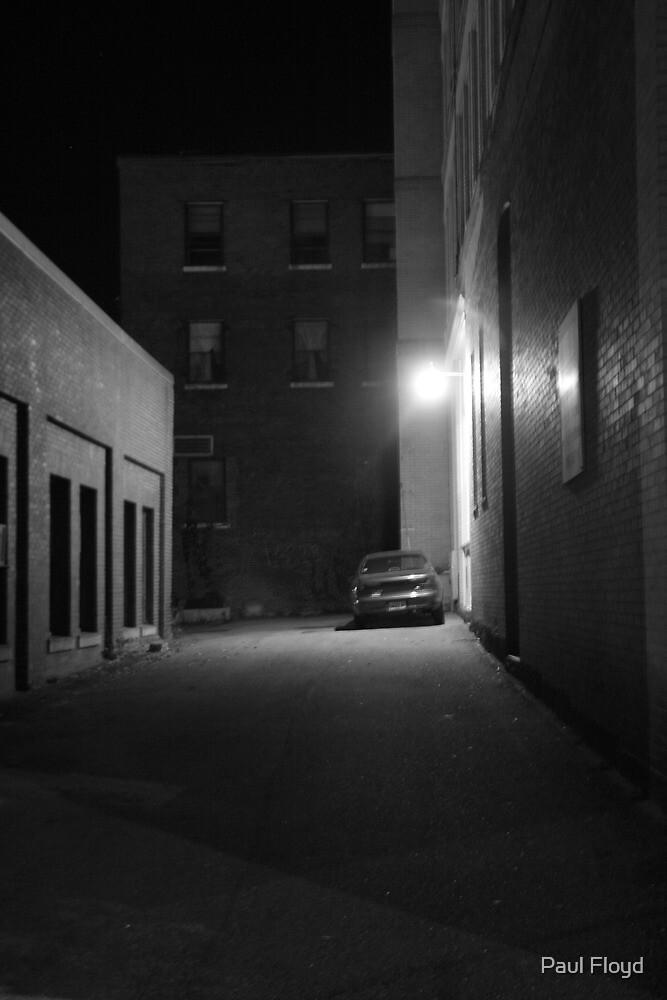 Dark alley way by Paul Floyd