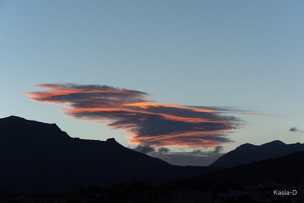 Crete: Lenticular Sunset by Kasia-D