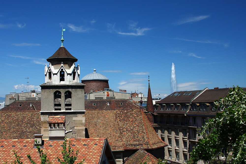 Beautiful Geneva by SinaStraub