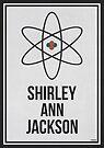 «SHIRLEY ANN JACKSON - Arte de pared de Women In Science» de Hydrogene