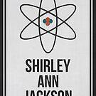 SHIRLEY ANN JACKSON - Women In Science Wall Art by Hydrogene