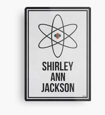 SHIRLEY ANN JACKSON - Women In Science Wall Art Metal Print