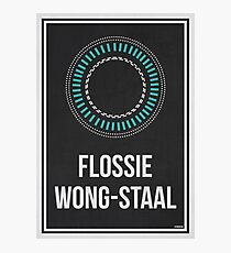 FLOSSIE WONG-STAAL - Women In Science Photographic Print