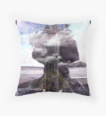 Home by the Sea (Squat Tide) Throw Pillow