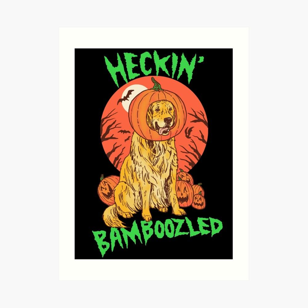 Doggo Lantern Art Print