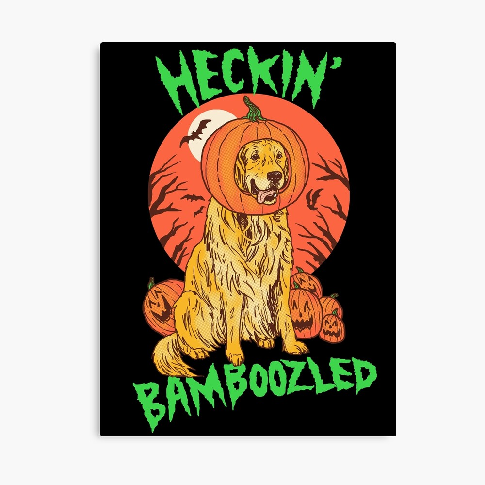 Doggo Lantern Canvas Print