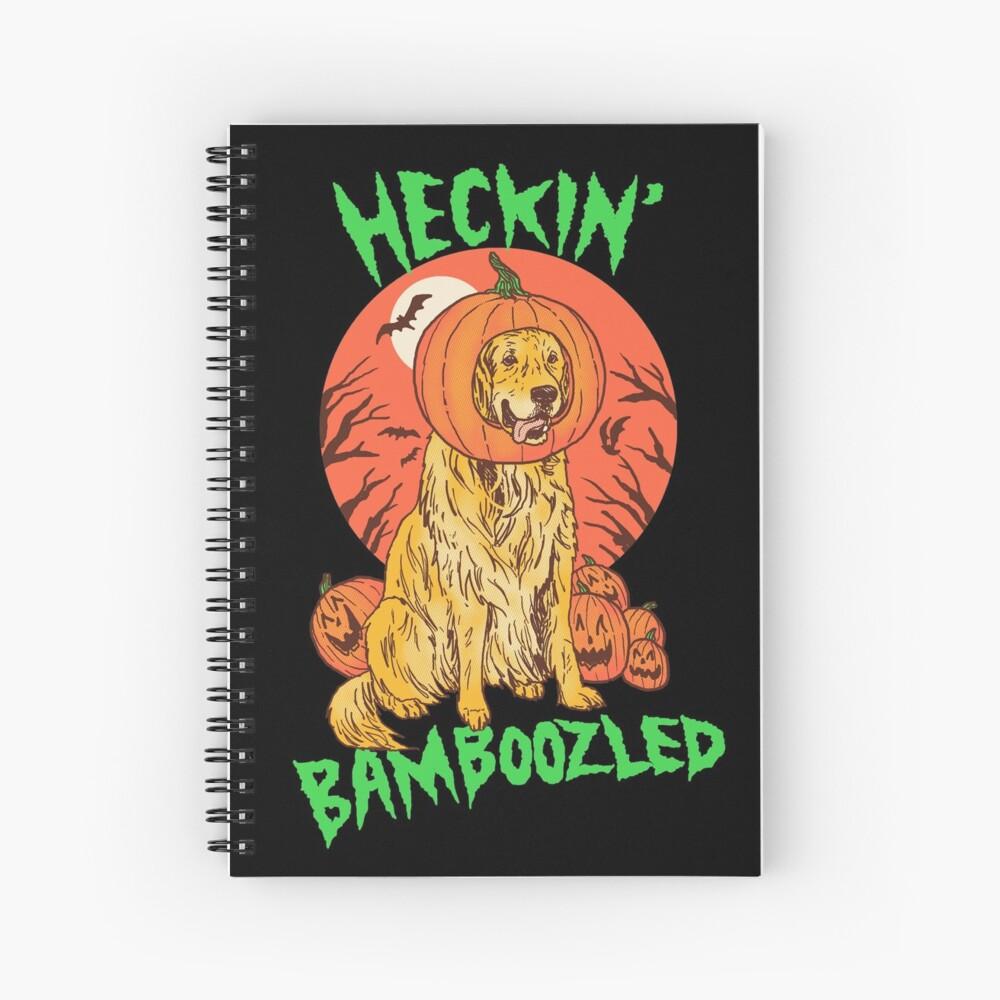 Doggo Lantern Spiral Notebook
