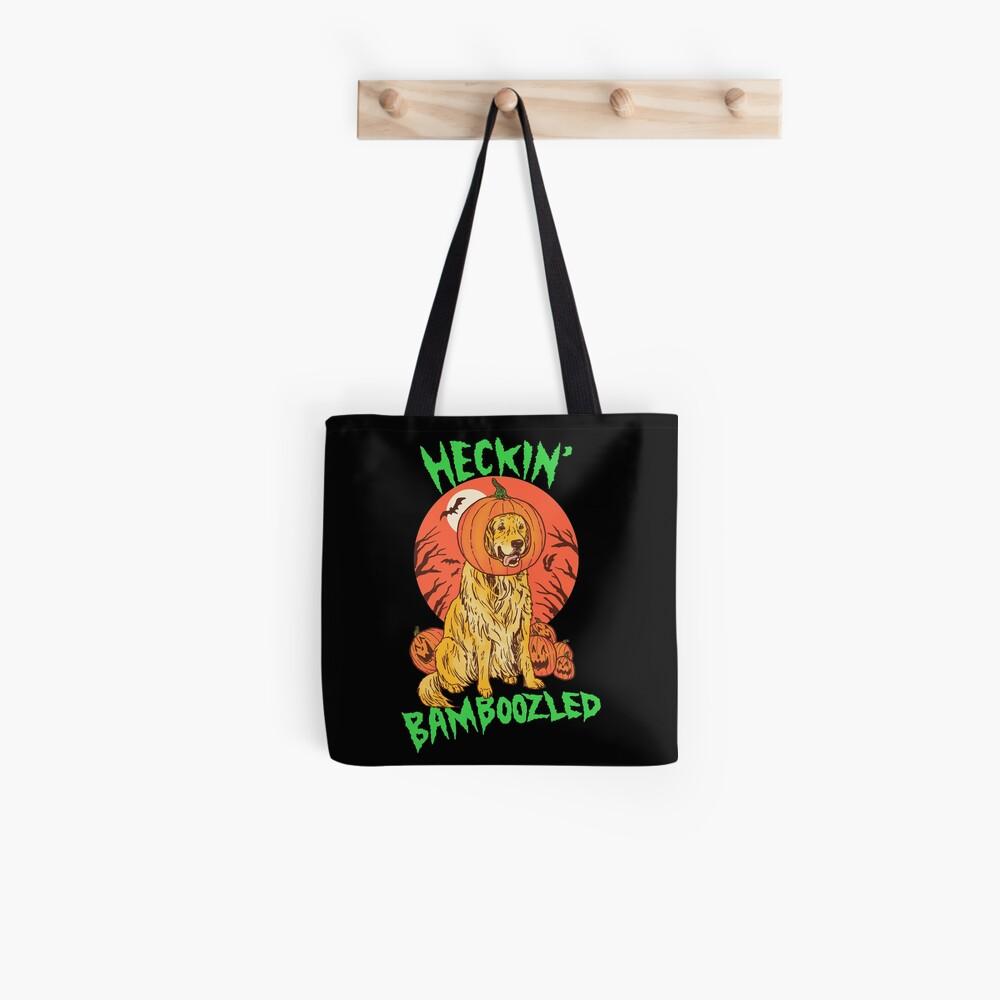 Doggo Lantern Tote Bag