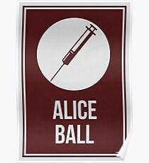 ALICE BALL - Frauen in der Wissenschaft Poster