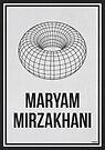 «MARYAM MIRZAKHANI - Mujeres en la ciencia» de Hydrogene