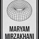 MARYAM MIRZAKHANI - Women In Science by Hydrogene