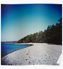 Swedish beach Poster