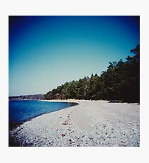 Swedish beach Photographic Print