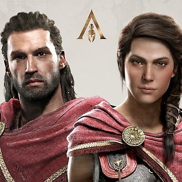 Kassandra and Alexios by angela11812
