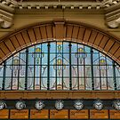 Window Above the Station Clocks by JohnKarmouche