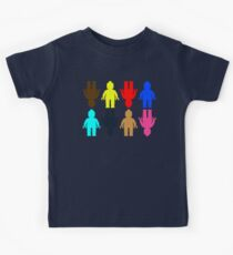 8 x Minifig Stickers  Kids Clothes