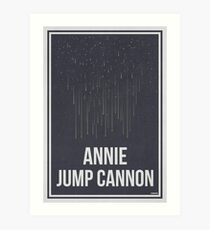 ANNIE JUMP CANNON - Women in Science Art Print