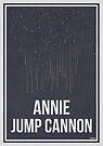 «ANNIE JUMP CANNON - Mujeres en la ciencia» de Hydrogene