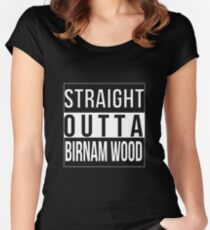 Straight Outta Birnam Wood Women's Fitted Scoop T-Shirt