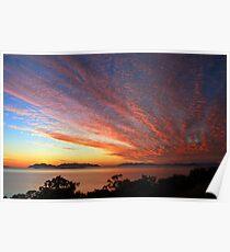 Sunrise Over Gloucester Island Poster