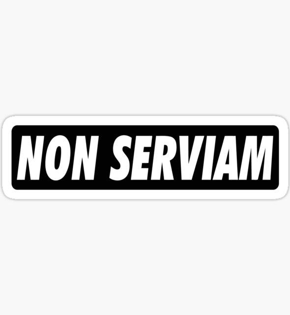 NON SERVIAM by GLOBEXIT