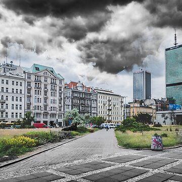 Warsaw art 3 #warsaw #warszawa by JBJart