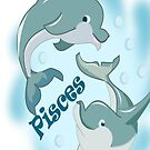 Pisces(Dolphin) (2991 Views) by aldona