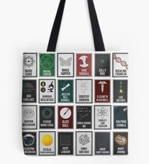 24 Women Who Changed Science. And The World. Tote Bag