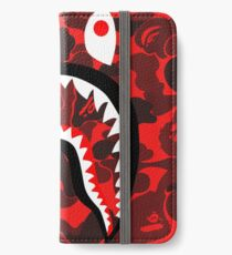 Red Bape iPhone Wallet/Case/Skin