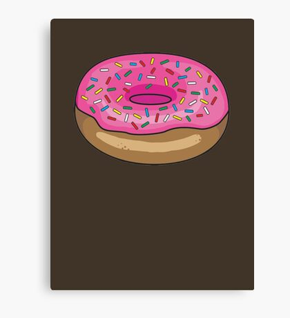Sprinkle Donut Canvas Print