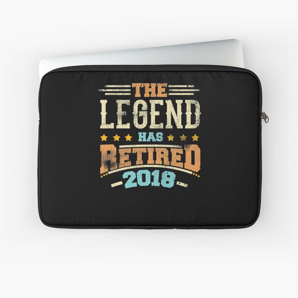 Legende hat Pensionierungsparty-Vati 2018 pensioniert Laptoptasche