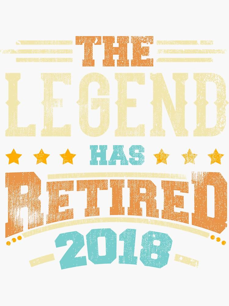 Legende hat Pensionierungsparty-Vati 2018 pensioniert von kieranight