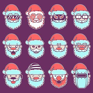 12 Days of Santa by strangethingsA