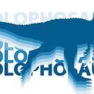 Cryolophosaurus Dinosaur by Skylar Harris