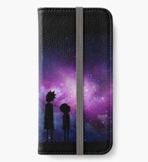 Minimalist Rick and Morty Space Design iPhone Wallet/Case/Skin