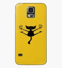Funda/vinilo para Samsung Galaxy falta de gato