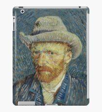 Van Gogh: Self-Portrait with Grey Felt Hat iPad Case/Skin