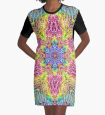 Kachinae Graphic T-Shirt Dress