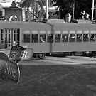Old Ybor City trolley by David Lee Thompson