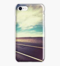 Road in the Desert iPhone Case/Skin