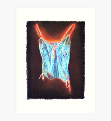 Glowing Chamisole Art Print