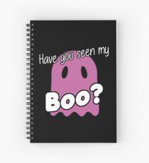 Haloween Gespenst my Boo Spiralblock