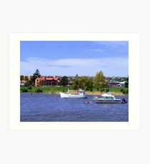 Across The Tamar  Art Print