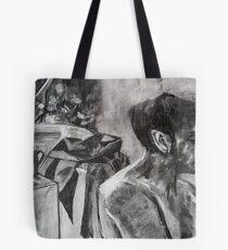 Drawing Marathon Tote Bag